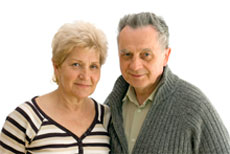 elderly parents - mom and dad